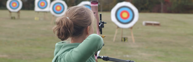 Leonie Allen Shootin at the 2009 Tr-Counties Match