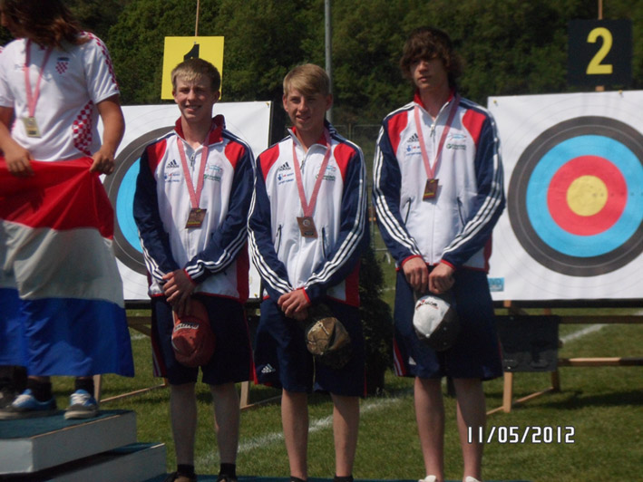 GB Cadets Podium