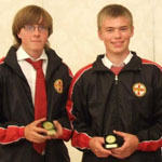 David & Bradley at the Junior Euronations 2012