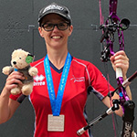 A World Cup Stage Silver Medal for Susan!