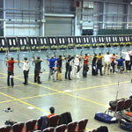 County Archers Shoot Well at Face2Face UK