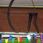 Archery Sculpture Unveiled at Wrenn School