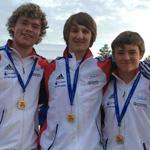 Jon & Brad win medals in Slovenia!