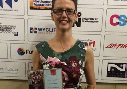 Susan wins Northampton Local Sportswoman of the Year 2018