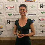 Susan Wins 2019 Northampton Sport Awards Local Sportswoman